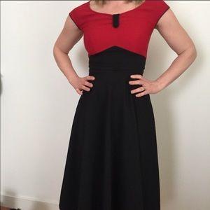 Stop Staring Vintage Style Retro Swing Dress!